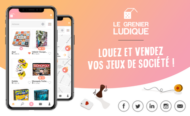 Visueel van project Le Grenier Ludique
