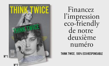 Project visual ThinkTwice magazine n°2