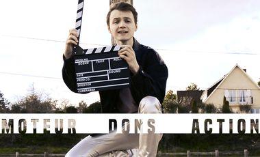 Visuel du projet MOTEURS, DONS, ACTION !!! CLM Production