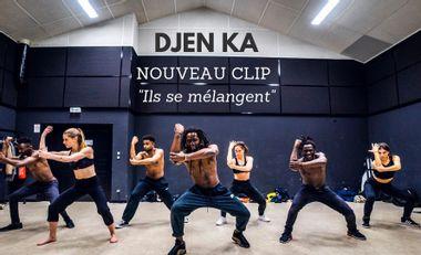 """Visueel van project Djen Ka - Nouveau CLIP """"ils se mélangent"""""""