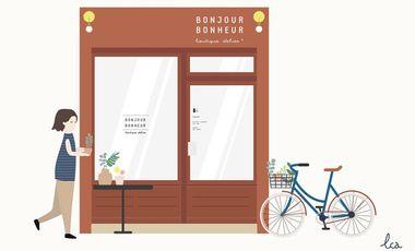 Visueel van project Bonjour Bonheur - boutique atelier