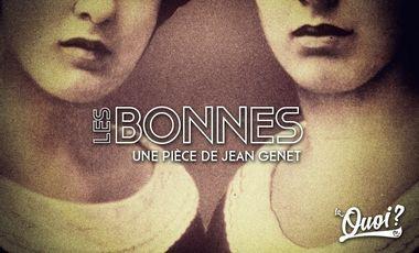 Visueel van project Les Bonnes de Jean Genet (par la Compagnie La Quoi?)