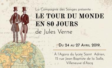 Visueel van project Le Tour du Monde en 80 Jours