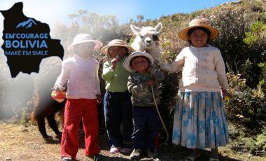 Project visual Aidez nous à soutenir le village de Santiago de Machaca !