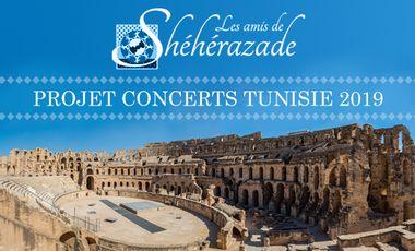 """Visueel van project Concerts """"Mozart entre deux rives"""""""