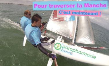 Visuel du projet Traversée de la manche en catamaran de sport