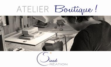 Project visual Ouverture de l'Atelier-Boutique - Sinad_Création