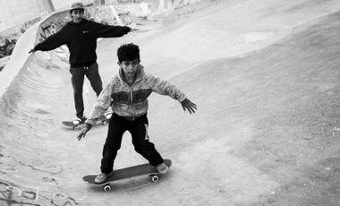 Project visual Aide aux jeunes en Jordanie - Une bouffée d'air via le Skateboard