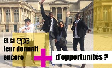 Project visual Après la Mini-Entreprise, continuons à offrir aux jeunes des opportunités !