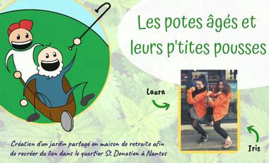 Visueel van project Les potes âgés et leurs p'tites pousses