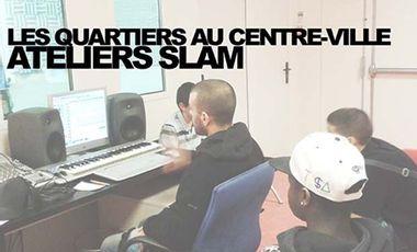 """Visueel van project """"LES QUARTIERS AU CENTRE-VILLE"""" ATELIERS SLAM"""