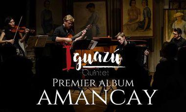 Visuel du projet Iguazú Quintet enregistre son premier album  !