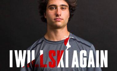 Visueel van project help Dylan get back on the skis!