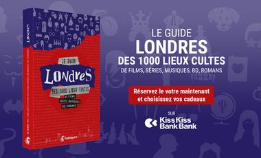 Visuel du projet Le guide Londres des 1000 lieux cultes de films, séries, musiques, bd, romans