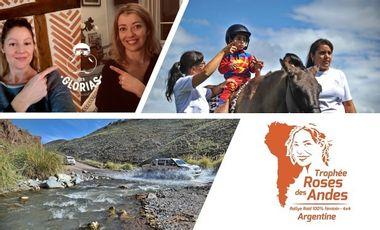 Visuel du projet Les Glorias au rallye solidaire Trophée Roses des Andes 2020