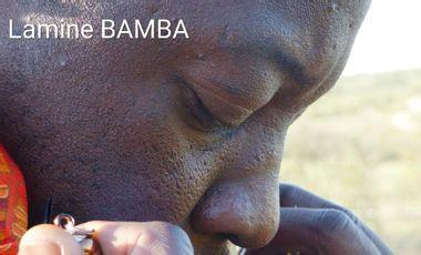 """Visueel van project EP """"Exode"""" de Lamine Bamba"""