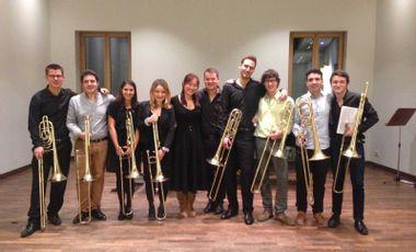 Visueel van project Rostock trombone class goes to America