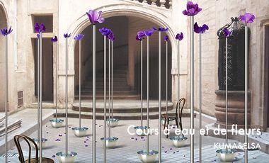 Visuel du projet Cours d'eau et de fleurs