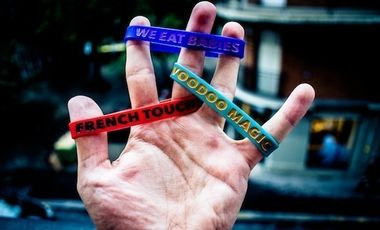 Project visual Fuck My Nose Madness Wristbands