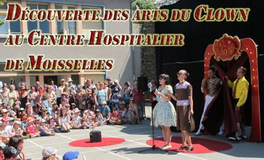 Visueel van project Découverte des arts du clown au centre hospitalier de Moisselles