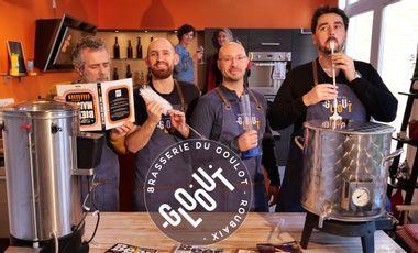 Visueel van project La Brasserie du Goulot - Bière La Voisine