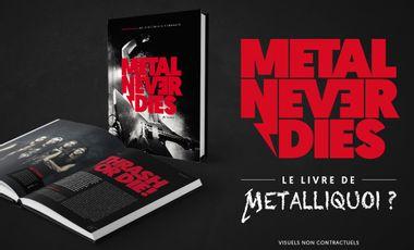 Visueel van project Metalliquoi ? - Le livre !