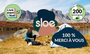 Visueel van project Sloe - Le soin nomade et naturel à la conquête de vos salles de bain