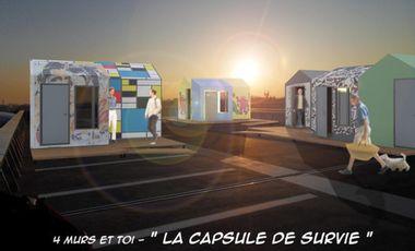 Visuel du projet La capsule de survie