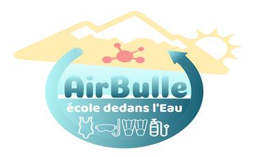 """Visueel van project Airbulle """"Ecole dedans l'Eau"""""""
