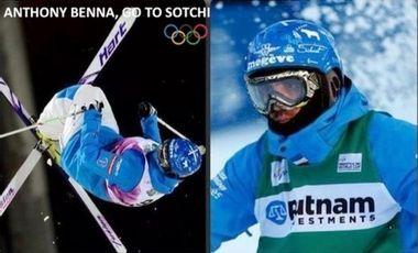 Project visual Supportez Anthony BENNA jusqu'aux Jeux Olympiques de 2014