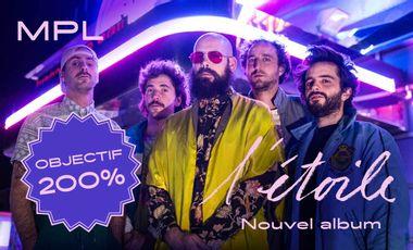 Visueel van project MPL - L'étoile - Nouvel album