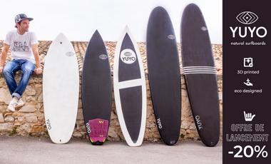 Visueel van project YUYO natural surfboards