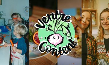 Visuel du projet Ventre Content - Art & Food concept