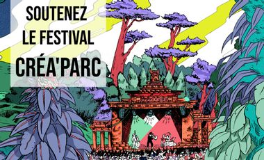 Project visual Festival Créa'Parc