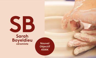 Visuel du projet Sarah Boyeldieu Céramiste