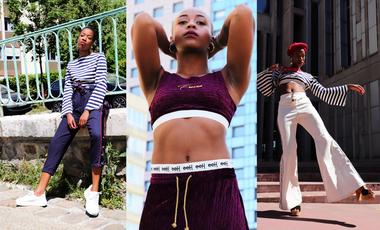 Visueel van project eeH : rendre hommage à la culture Hip Hop à travers le vêtement.