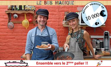 Visueel van project LE BUS MAGIQUE OUVRE SA PENICHE !