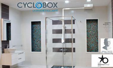 Visueel van project CYCLOBOX - La douche en illimité
