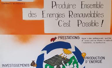 """Project visual Centrales villageoises """" Soleil de l'Arc"""""""