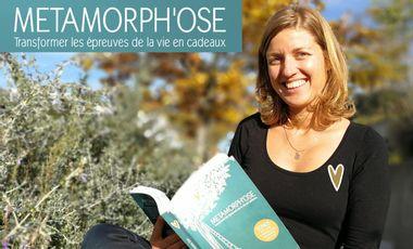 Project visual Ré-édition du livre METAMORPH'OSE Transformer les épreuves de la vie en cadeaux