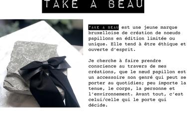 Visueel van project Aidez TAKE A BEAU à développer sa boutique en ligne !
