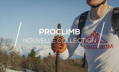 Project visual Collection PROCLIMB : Vêtements techniques éco-conçus pour sportifs outdoor