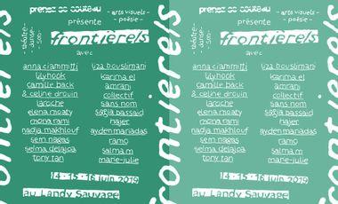 Visueel van project Exposition Frontière/s - Collectif Prenez ce couteau