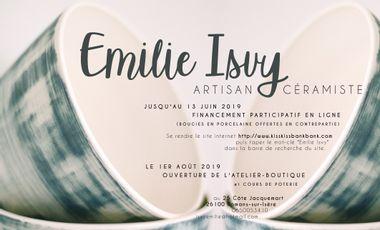 Visuel du projet Atelier-boutique de céramique artisanale à Romans-sur-Isère.