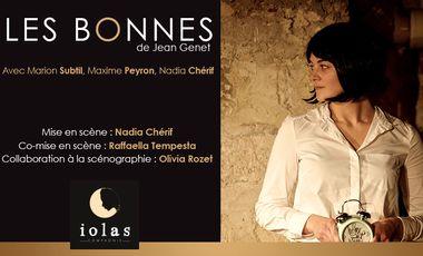 Project visual Les Bonnes  de Jean Genet au Festival d'Avignon OFF 2019