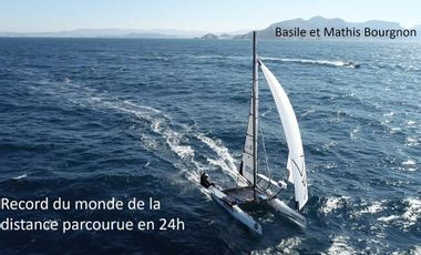 Visueel van project 24-HOUR WORLD RECORD UNDER SAIL - Basile et Mathis Bourgnon