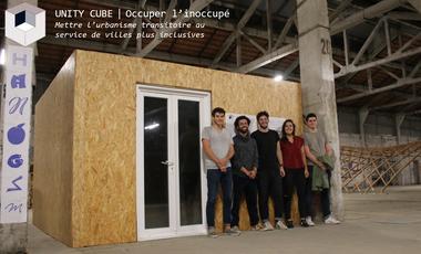 Visuel du projet UNITY CUBE - Solution d'hébergement d'urgence dans les bâtiments inoccupés