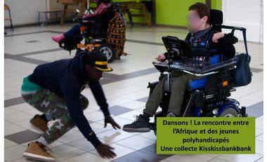 Project visual Dansons! La rencontre entre l'Afrique et des jeunes en situation de handicap