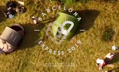 Visueel van project Barcelona Express 2019 #TeamVERYBADSTOPPEUSES