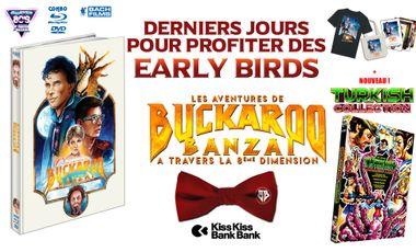 Visueel van project Les Aventures de Buckaroo Banzaï pour la 1ère fois en HD combo dvd/blu-ray !